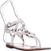 Circus by Sam Edelman Bree Flat Gladiator Sandals, Bright White