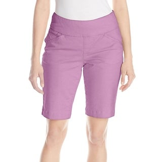 Jag Jeans NEW Purple Women's Size 14 Ainsley Bermuda Walking Shorts