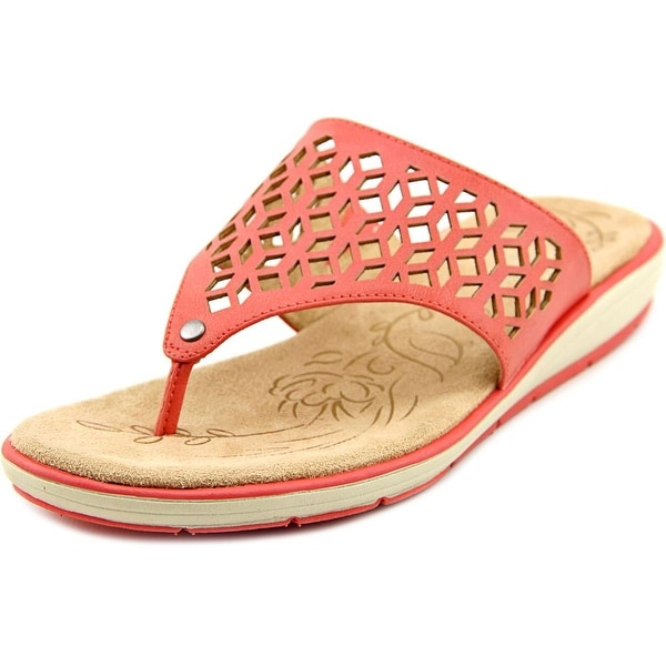 Naturalizer Ginny Open Toe Synthetic Thong Sandal