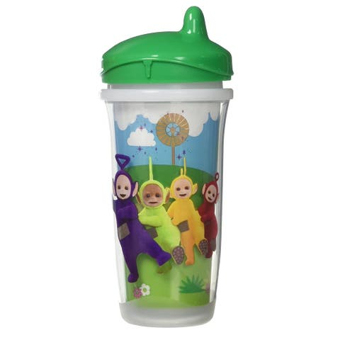 Playtex Teletubbies Sipsters, Stage 3, 12M+, Green, 9 Oz