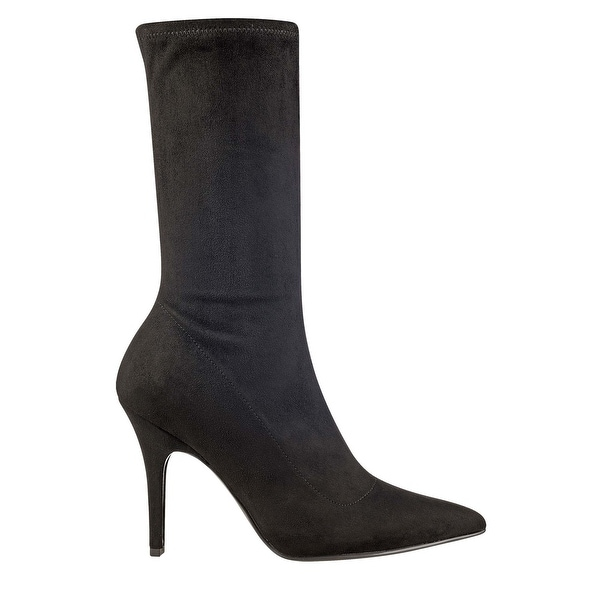 Marc Fisher Womens Iunita Suede Pointed Toe Mid-Calf Fashion Boots