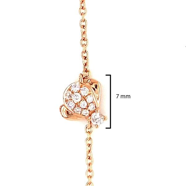 Kabella Gold Bee Bracelet Adjustable length