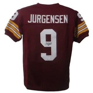 Sonny Jurgensen Autographed Washington Redskins Custom Size XL Red Jersey SS HOF JSA
