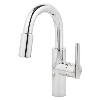 Newport Brass 1500-5203 East Linear Pullout Spray High-Arc Bar Faucet