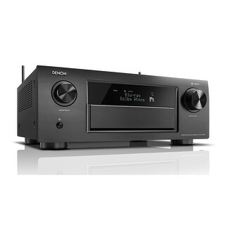 Denon AVRX6400H 11.2 Channel Full 4K Ultra HD Network AV Receiver with HEOS black, Works with Alexa
