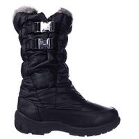 WEATHERPROOF Womens Mikayla Closed Toe Mid-Calf Cold Weather Boots