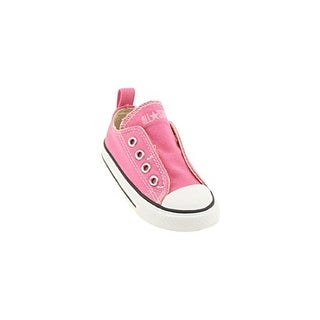 Converse Baby Girls' All Star Simple Slip - Chuck Pink - 4