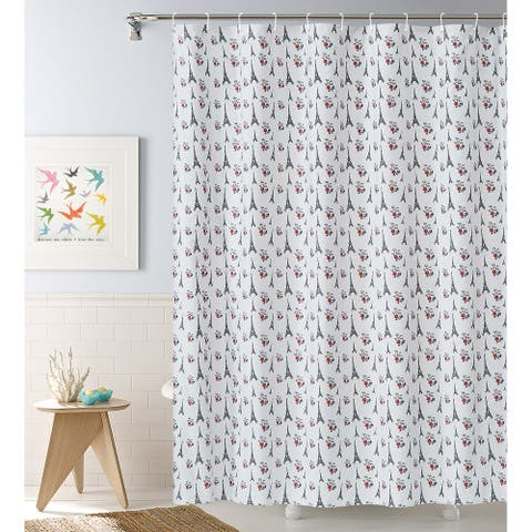 Take me to Paris 13-piece Shower Curtain Set