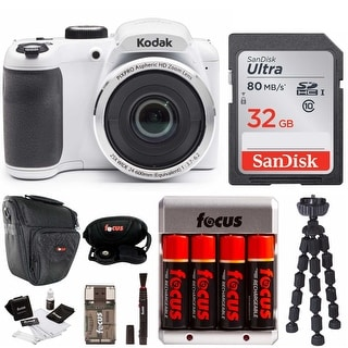 Link to Kodak PIXPRO AZ252 Digital Camera (White) Bundle Similar Items in Digital Cameras