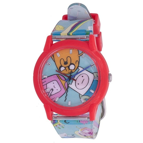 Adventure Time Adjustable Watch Limited Edition Same Watch as worn by Deadpool in Movie - Red