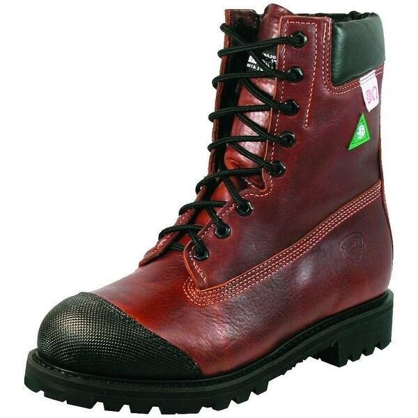 Boulet Work Boots Mens Leather Steel Toe Vibram Rustico Honey