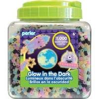 Glow In The Dark - Perler Fused Beads 11;000/Pkg