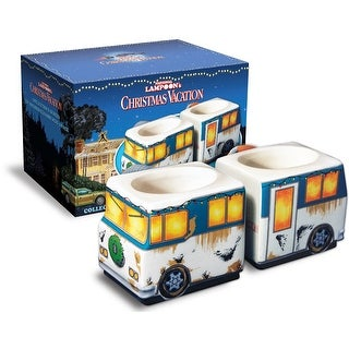 National Lampoon's Christmas Vacation RV Molded Ceramic Mug 2-Pack