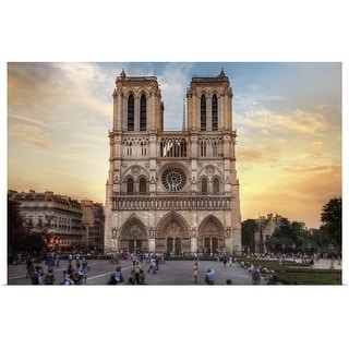 """Notre Dame Cathedral, Paris, France"" Poster Print"