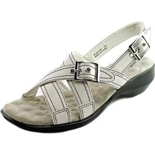 Walking Cradles Lythe Women W Open-Toe Synthetic Slingback Sandal
