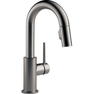 Delta 9959-DST  Trinsic 1.8 GPM Single Hole Pull-Down Bar/Prep Faucet with Magnetic Docking Spray Head