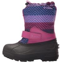 Kids Columbia Girls powerbug Knee High Pull On Snow Boots