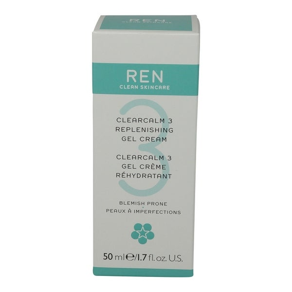 REN Skincare Clearcalm 3 Replenishing Gel Cream - 1.7 Oz
