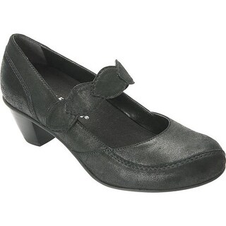 Drew Women's Monaco Mary Jane Dusty Black Leather