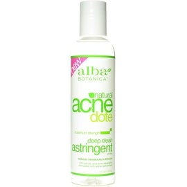 Alba Botanica Acnedote, Deep Clean Astringent 6 oz (4 options available)