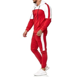 Link to Men's Jogging Full Tracksuit Hoodies Joggers Set Tracksuit Top & Bottoms Set Similar Items in Pants