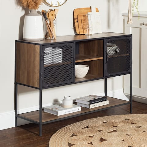 Carbon Loft Pierpont Industrial Buffet Sideboard