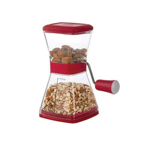 Prepworks by Progressive GFNC-3 Prepworks Nut Chopper, Red
