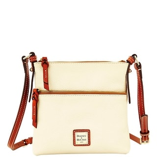 Dooney & Bourke All Weather Leather Letter Carrier (Introduced by Dooney & Bourke at $168 in Aug 2014) - Bone
