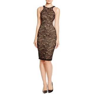 Bailey 44 Womens Cocktail Dress Ponte Lace