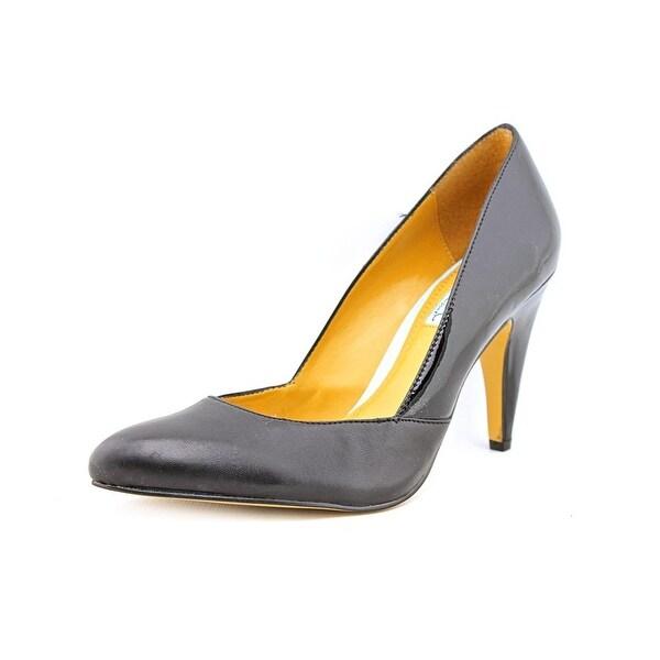 Cynthia Rowley Aspen Women Pointed Toe Leather Black Heels