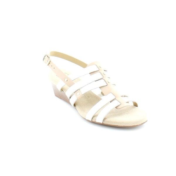 ce968fcbf0a Shop Liz Claiborne Stacey Women s Sandals   Flip Flops Cream Combo ...