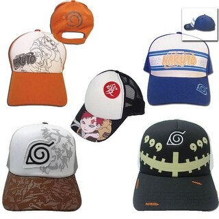 NARUTO NINJA OFFICIALLY LICENSED CAP / HAT