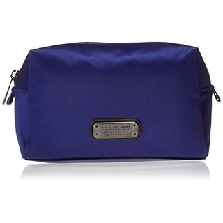Marc by Marc Jacobs Womens Zero Sateen Lined Cosmetic Bags - Mineral Blue - o/s