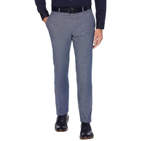 Perry Ellis Portfolio Mens Dress Pants Slim Fit Stretch