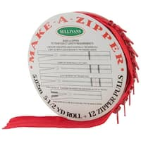 Red - Make-A-Zipper Kit 5-1/2Yd