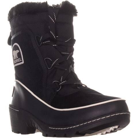 Sorel Tivoli II Winter Boots, Black/Light Bisque