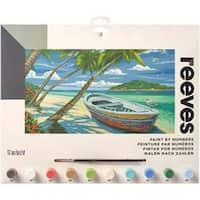 """Tropical Beach - Paint By Number Kit 12""""X16"""""""