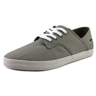 Lacoste Andover LCR SPM CNV Round Toe Canvas Walking Shoe