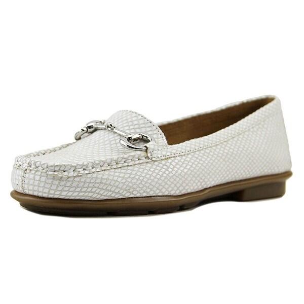 Aerosoles Nuwsworthy Women Moc Toe Leather Loafer