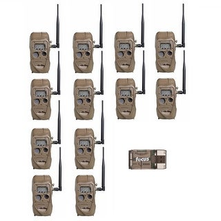 Cuddeback CuddeLink J Series Long Range IR Trail Camera (12-Pack) with Reader