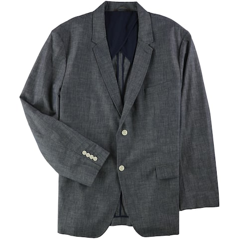 Tasso Elba Mens S Two Button Blazer Jacket