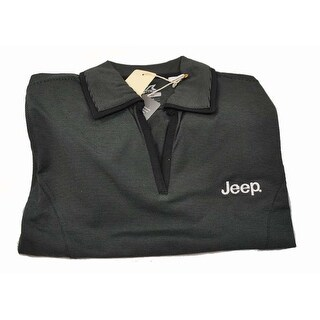 Cutter & Buck Women's Black XS Drytec Medina Jeep Embroidery Short Sleeve Polo