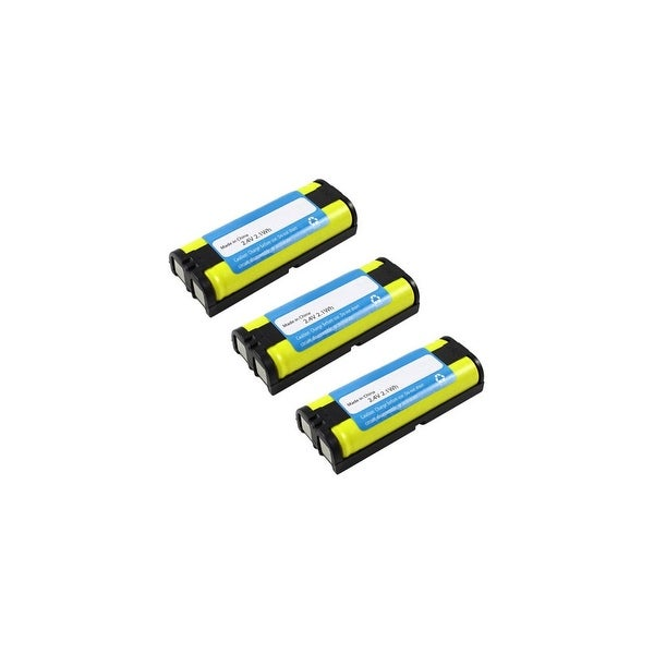 Replacement Panasonic HHR-P105 NiMH Cordless Phone Battery (3 Pack)