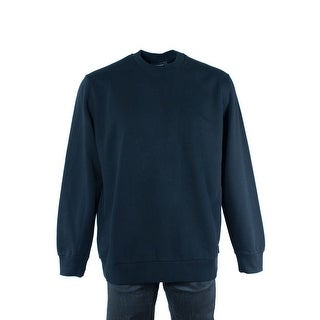 Givenchy Mens Cotton Solid Black with Graphic Sweatshirt Size