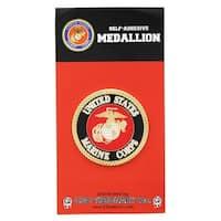 U.S. Marine Corps Self-Adhesive Medallion - multi
