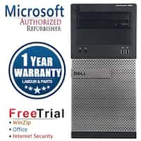 Dell OptiPlex 390 Computer Tower Intel Core i5 2400 3.1G 8GB DDR3 240G SSD+2TB Windows 10 Pro 1 Year Warranty (Refurbished)