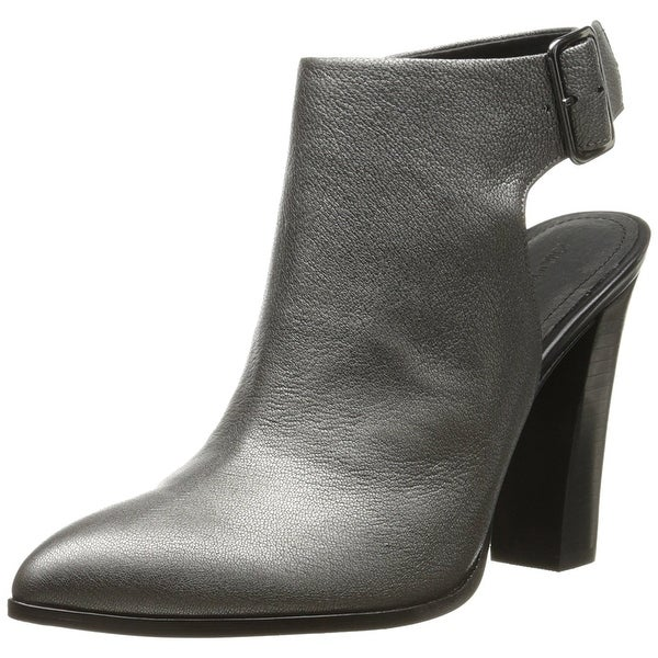 Pour La Victoire Womens Zuri Leather Pointed Toe Ankle Fashion Boots