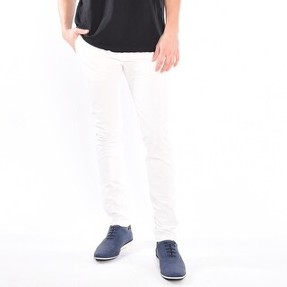 Chinos In White