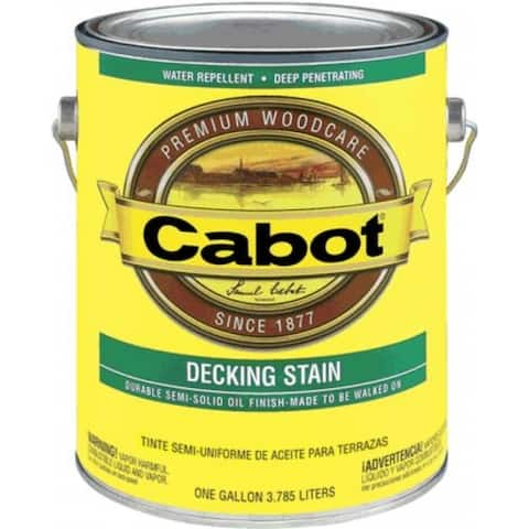 Cabot 04-1406 Qt Neutral Base Decking Stain
