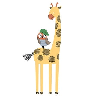 Link to Bedtime Originals Baby League Giraffe and Owl Wall Decals/Appliques Similar Items in Wall Decor